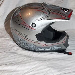 Youth Fox Motorcycle Helmet